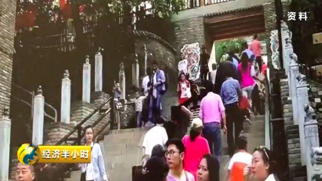 白鹿原民俗文化村曾经的火爆场面