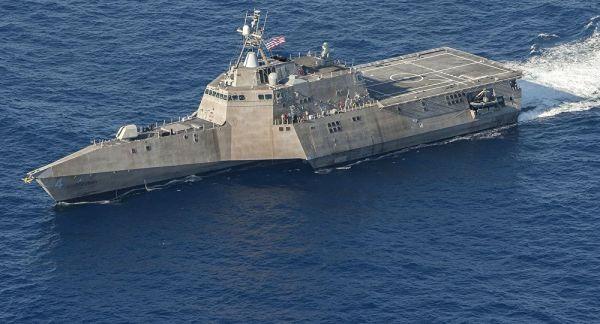 图为美海军独立级濒海战斗舰