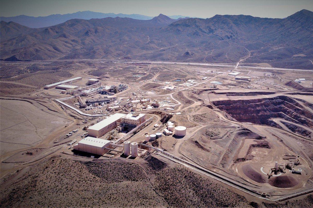 美国目前唯一在运作的稀土矿 图源:SCMP Pictures