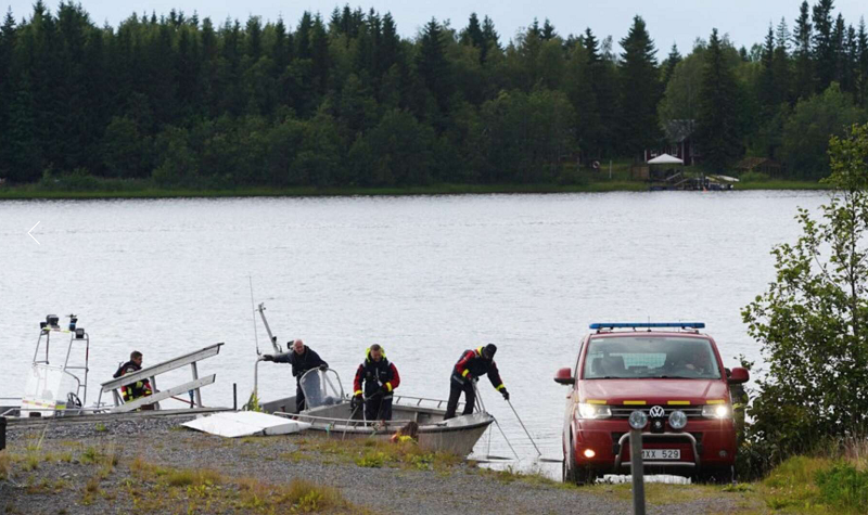 瑞典一架飛機失事 機上9人全部遇難