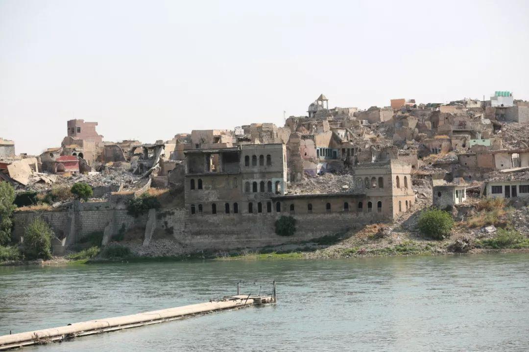 这是2019年7月2日在伊拉克拍摄的摩苏尔老城。新华社发(哈利勒·达伍德摄)