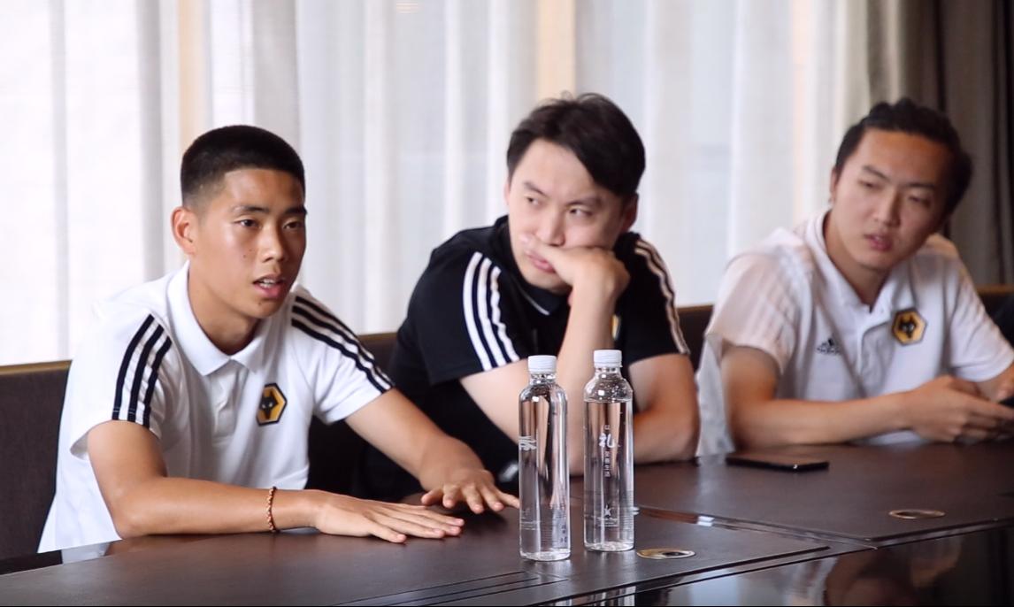 够力最前线:对话狼队英籍华裔小将温绍康