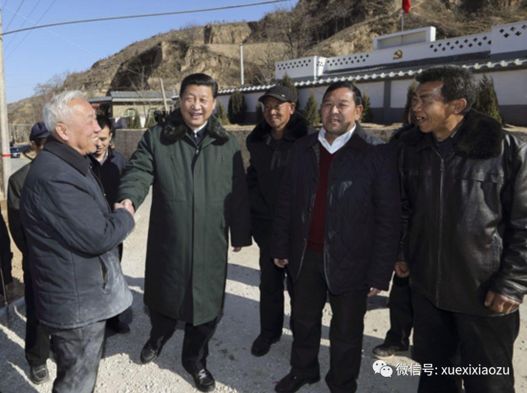 2015年初,习近平回到陕北梁家河
