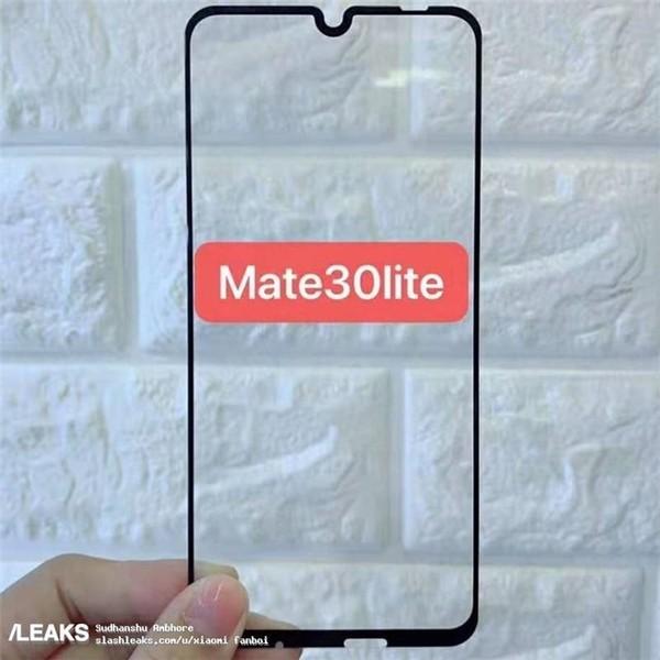 华为Mate 30Lite钢化膜曝光 可能还有保时捷版本