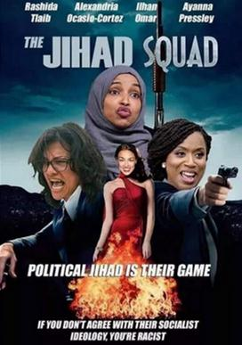 """""""恶搞""""女议员的海报/图自脸书jihad squad"""
