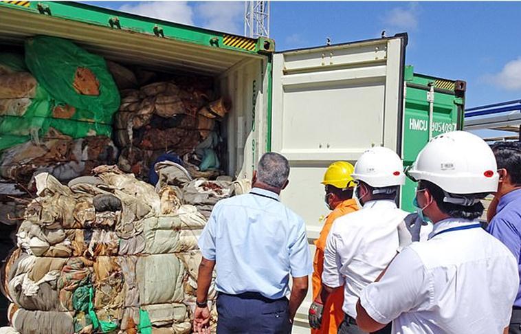 斯里兰卡将退还111箱英国垃圾:包括人体器官
