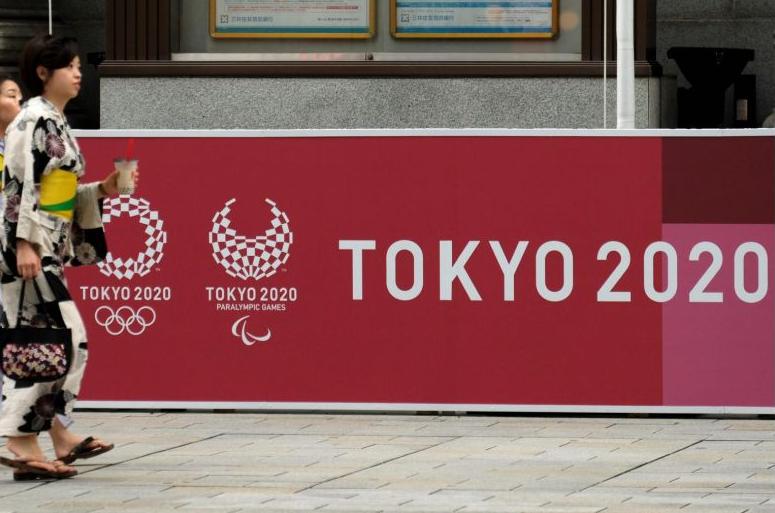 日本在奥运地图上