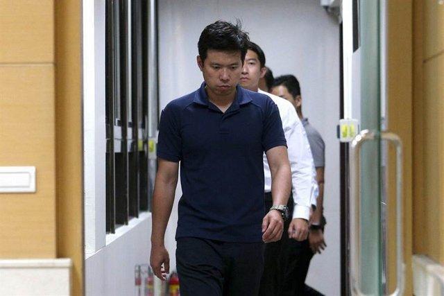 吴宗宪(前)(图源:中时电子报)