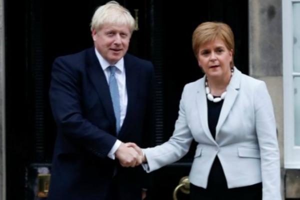 苏格兰首席部长:约翰逊有意推行
