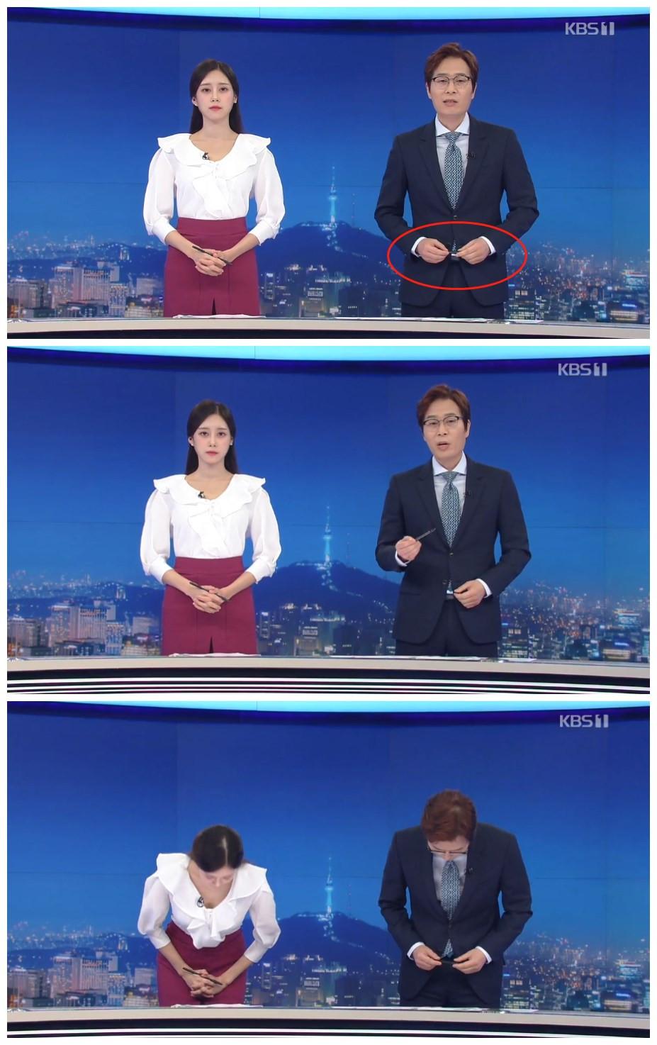 观众质疑是日本笔 韩国主持人直播时澄清:是国产