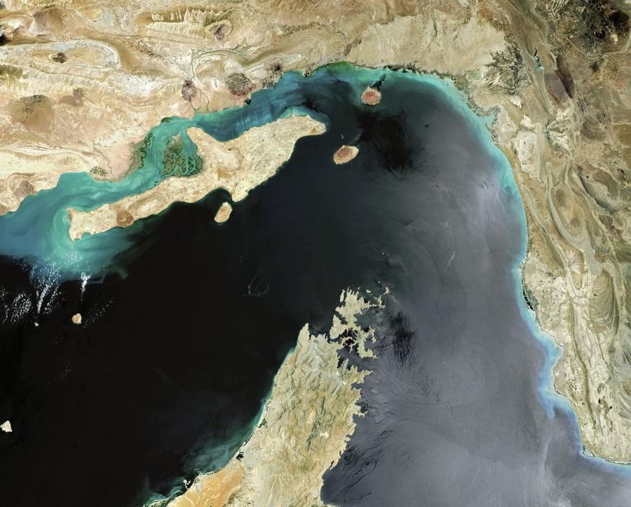 霍尔木兹海峡(共同社)
