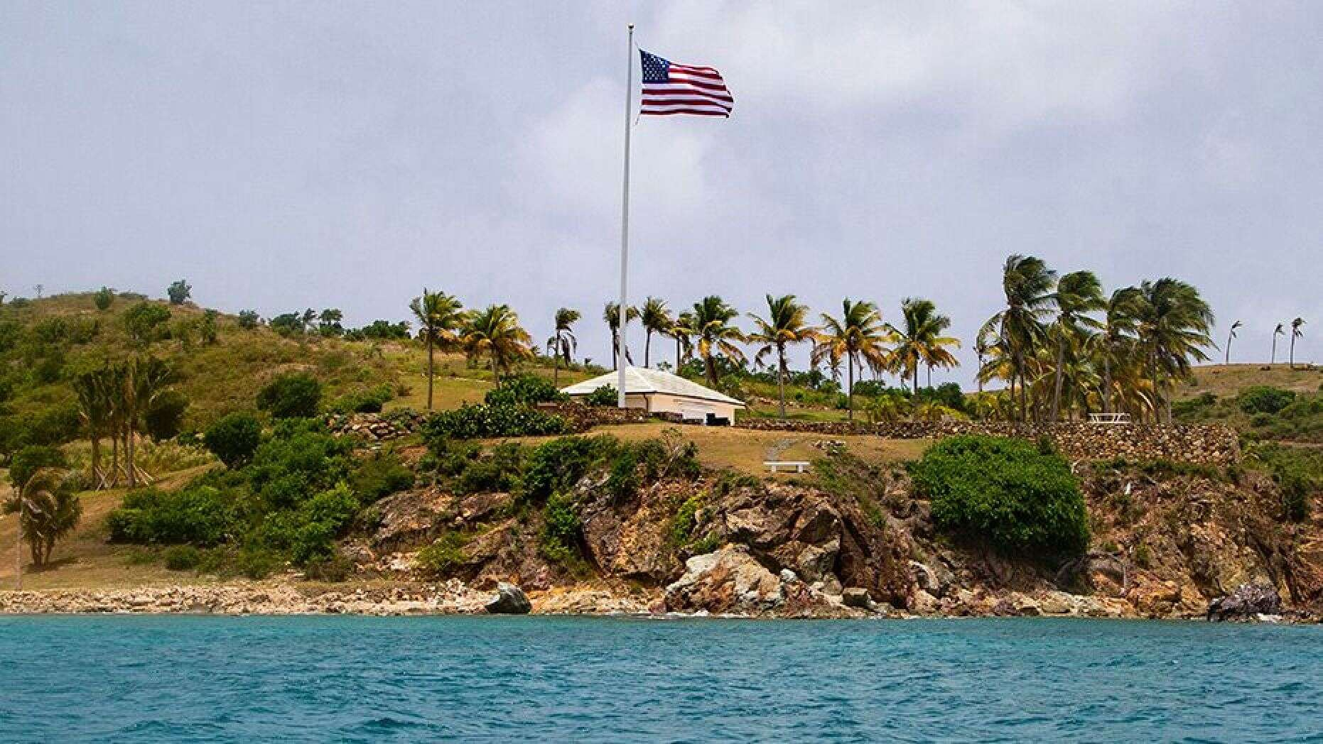 爱泼斯坦的岛上豪宅(图源:美联社)
