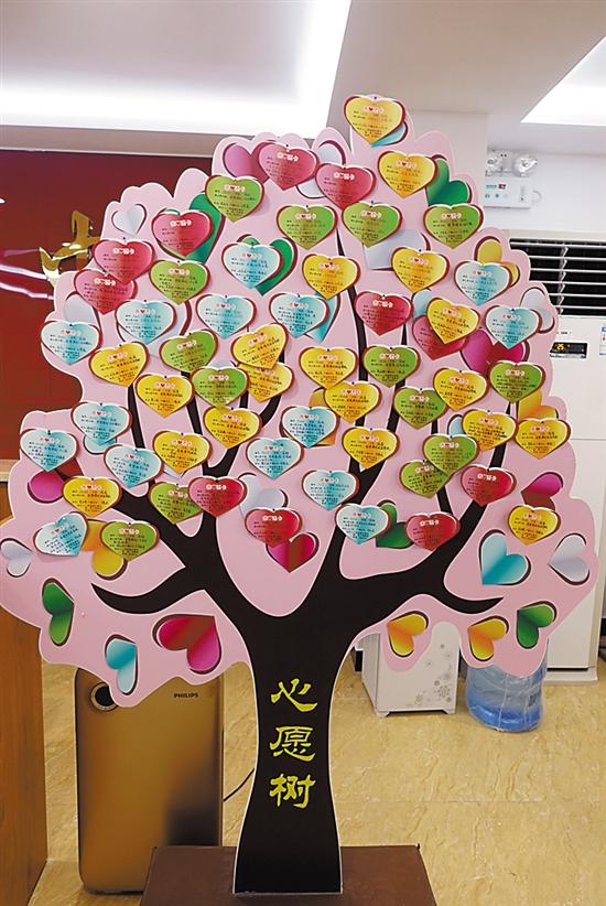 一棵微心愿树,成就一片爱心林