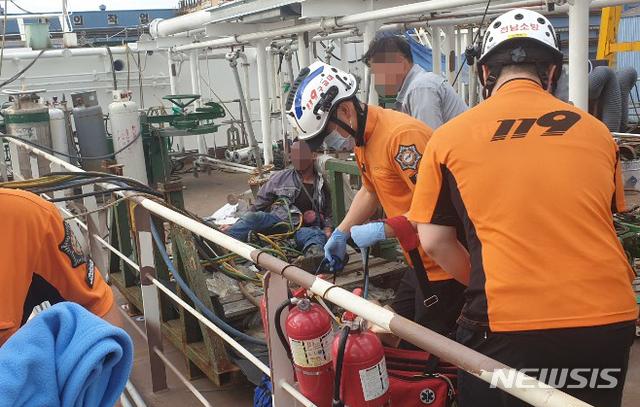 韓國造船廠發生爆炸 2名中國工人被嚴重燒傷(圖)