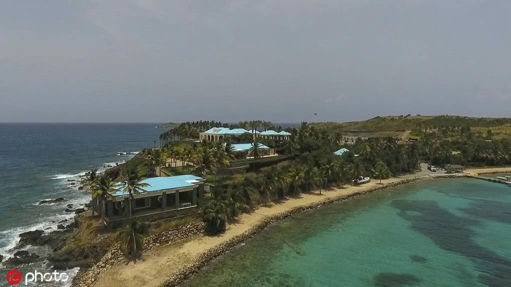 爱泼斯坦的小圣詹姆斯岛。(IC Photos)