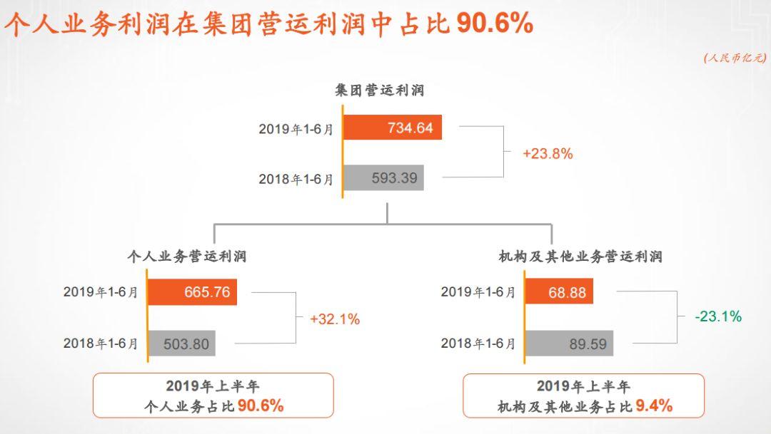 来源:中国坦然2019年中报