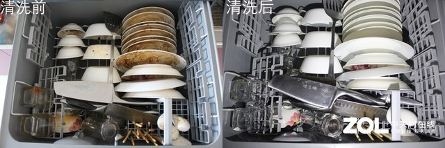 再看超声波式洗碗机,将待洗碗盘放入洗碗机后,需手动投放洗涤剂,超声波穿透固体物质而使整个液体介质振动并产生空化气泡,实现对各餐具的洗涤。