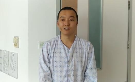 付国豪在视频中亮相(图源:《香港商报》)