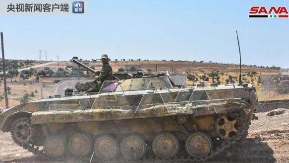 (圖片來自:敘利亞國家通訊社)