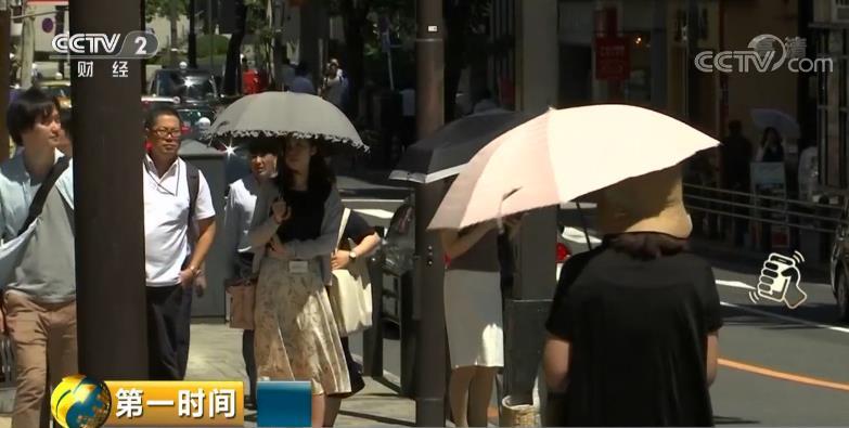 日本高温致百余人死亡 成140年以来最热的7月