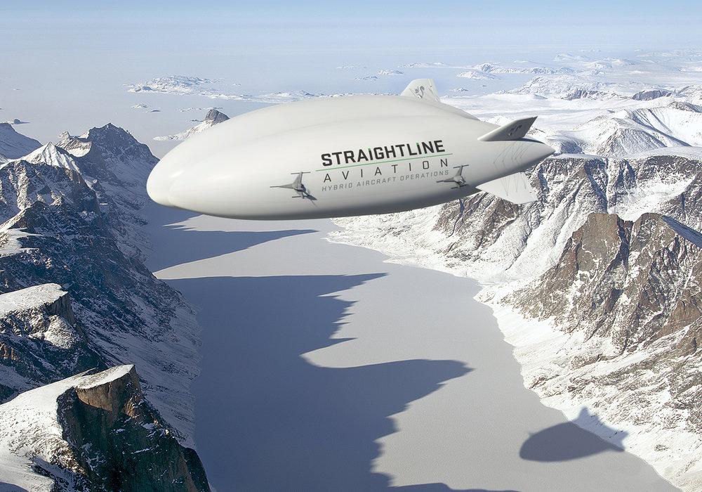 洛马计划面向中国市场的混合动力飞机 图自直线飞行公司网站