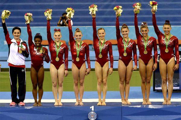 美国体操女队