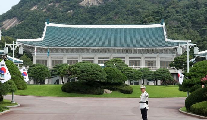 韩国总统府青瓦台(纽西斯通讯社)