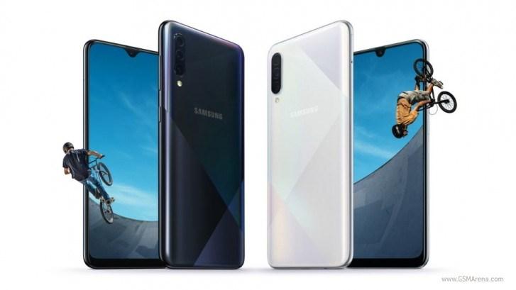 三星Galaxy A30s/A50s配置公布 四种配色+棱镜后部面板