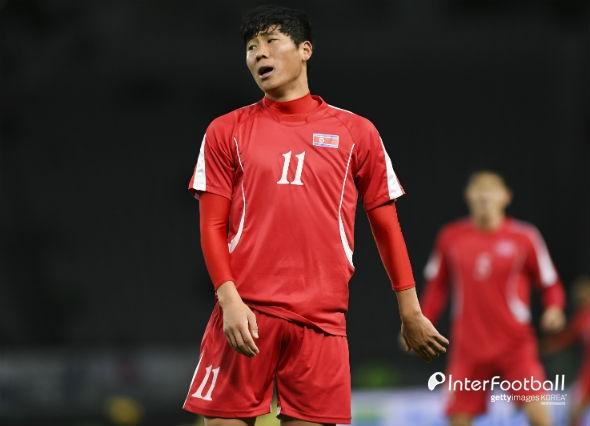 朝鲜球员郑日冠(interfootball)