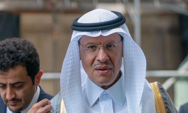 沙特能源大臣换人 首次由王室成员担任