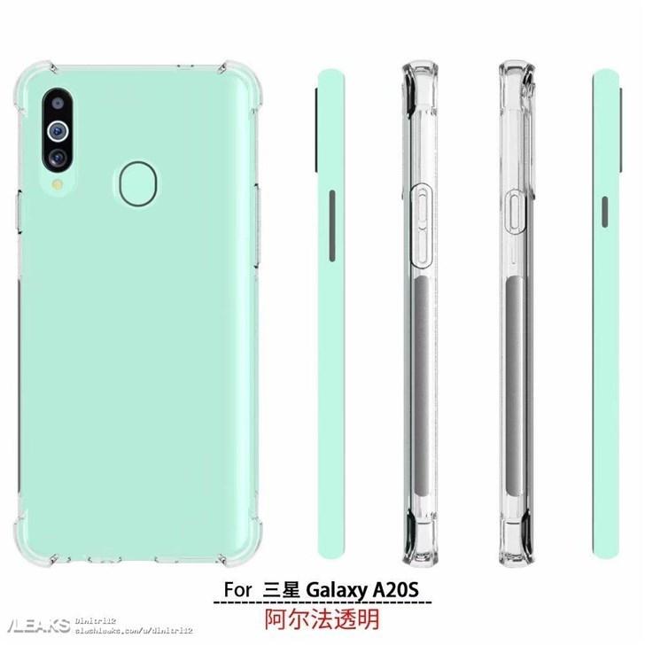 三星Galaxy A20s详细配置曝光 骁龙450+4000mAh电池