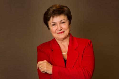 图为克里斯塔利娜·格奥尔基耶娃。新华社/法新