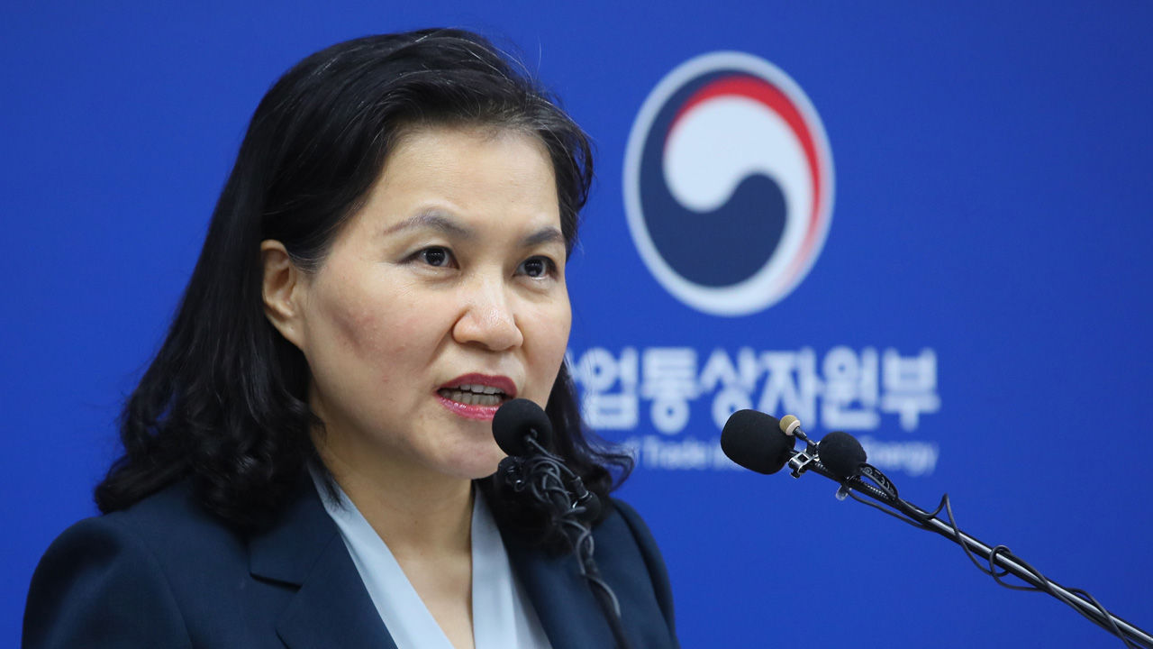 韩国贸易部长柳明熙(SBS新闻)
