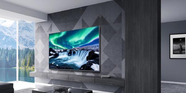 小米全面屏电视Pro渲染图亮相,采用金属外观设计