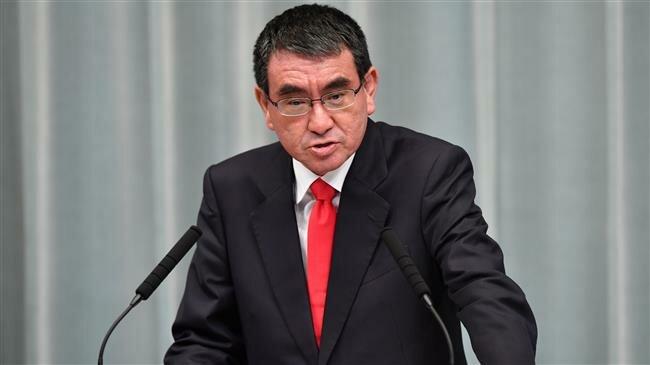 日本防卫大臣河野太郎。(图源:法新社)