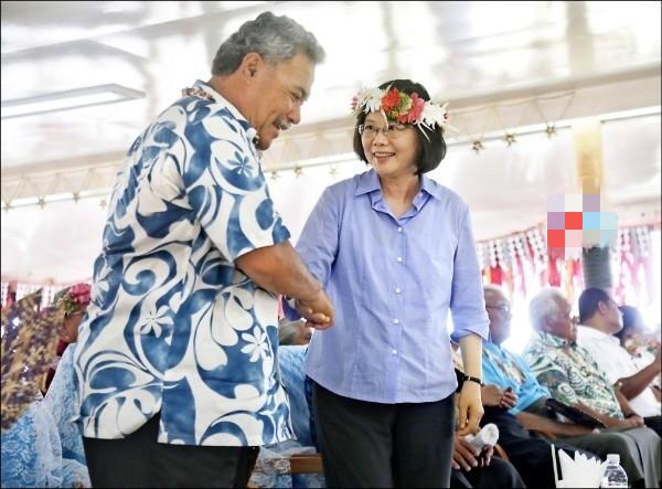 图瓦卢亲台总理下台 外媒:台邦交潜在打击