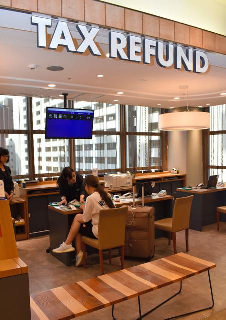 日本许多免税柜台表示,韩国客人骤减(朝日新闻)