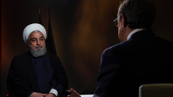 伊朗总统鲁哈尼(图源:福克斯新闻)