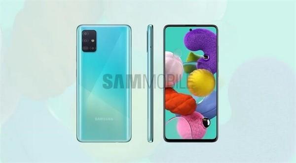 三星Galaxy A51今日将在越南推出 配备6.5英寸屏幕+后置4摄