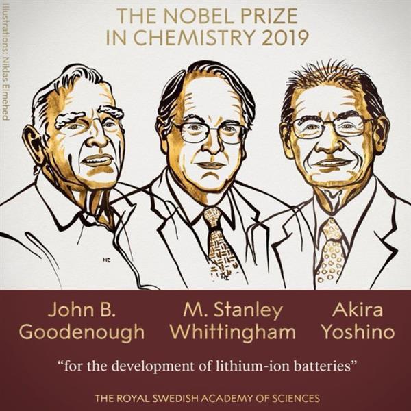 锂电池之父成诺奖最年长得主:97岁