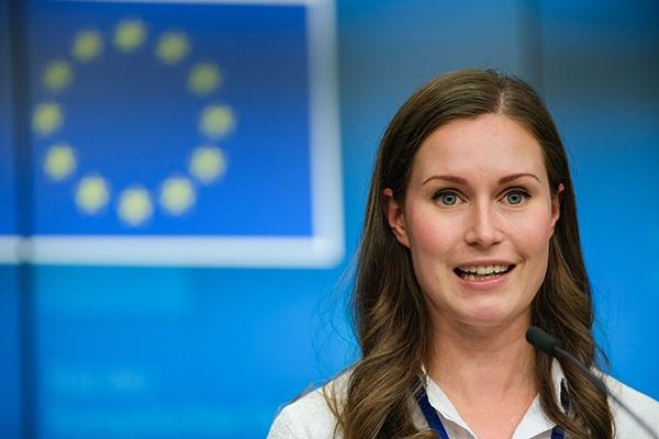 芬兰34岁女总理:出身同性恋家庭 未婚但有孩子
