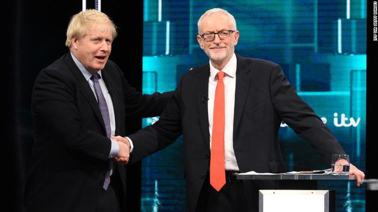 英大選出口民調:首相所在保守黨贏得絕對多數席位|鮑里斯|英國首相|選舉