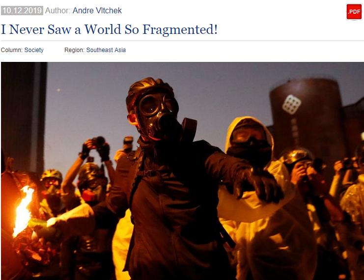 美媒战地记者揭暴徒丑陋一面。(图源:《新东方瞭望》)