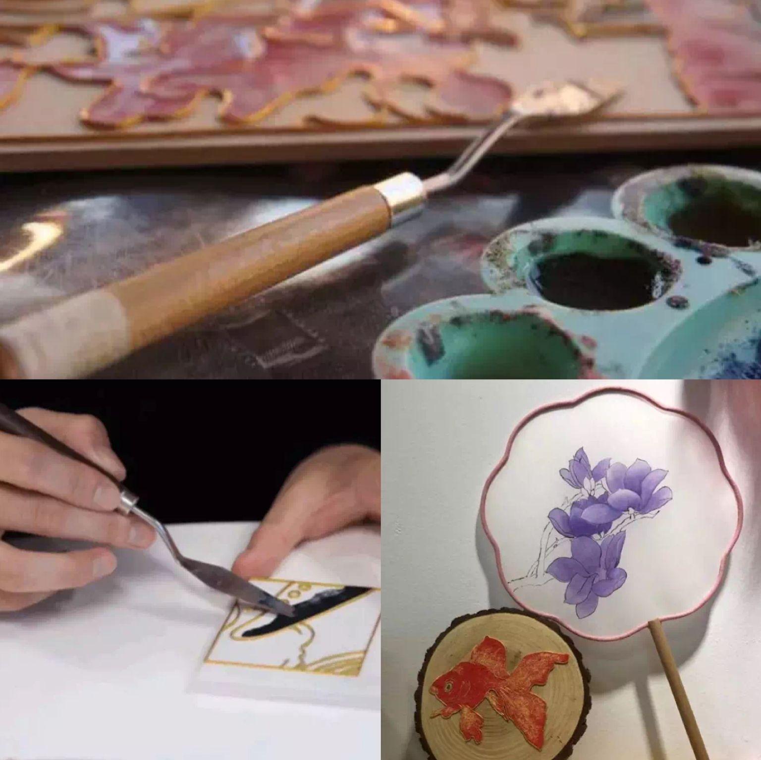 好玩│掐絲填釉、編制花絲,體驗匠人、匠心