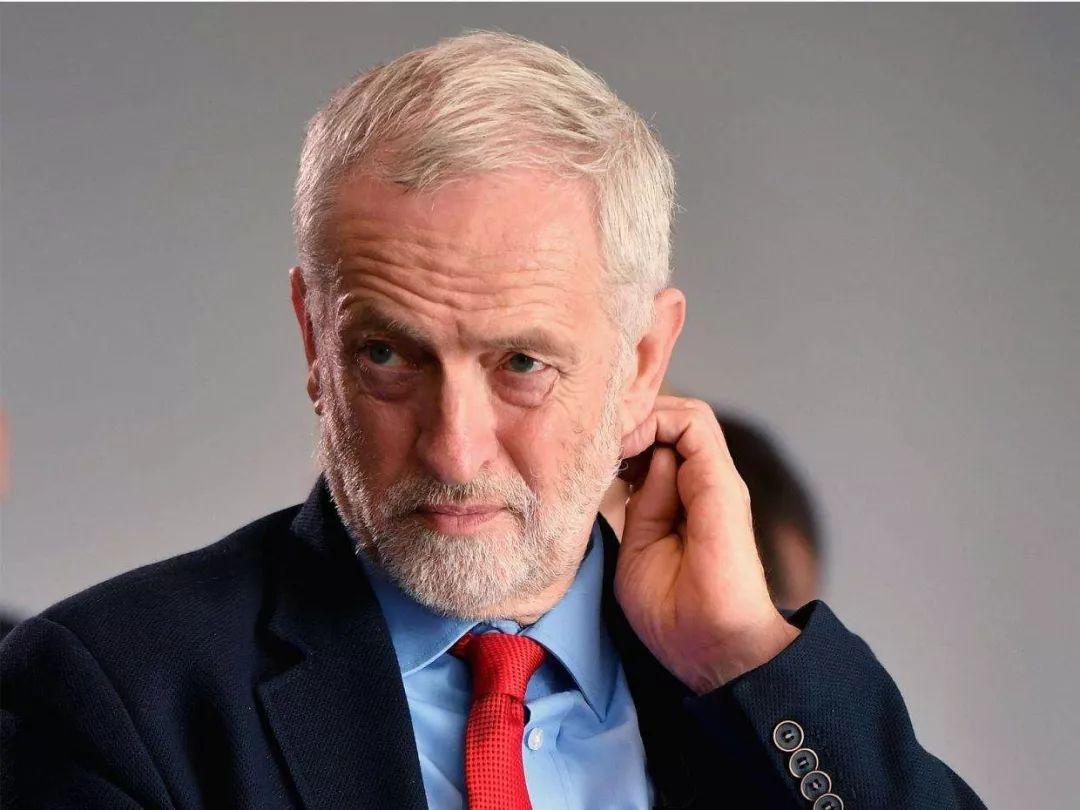 败选后辞职的英国工党领袖科尔宾