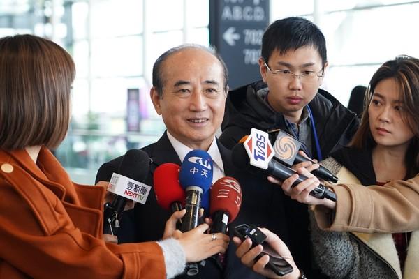 """王金平:民进党若再在""""立院""""过半将是台湾的灾难"""