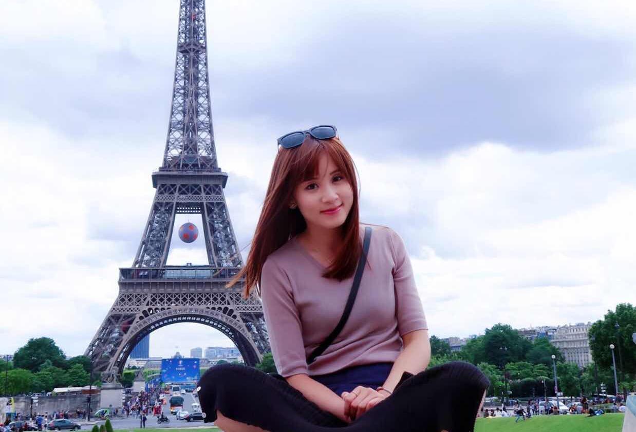 △容韵琳28岁 在巴黎