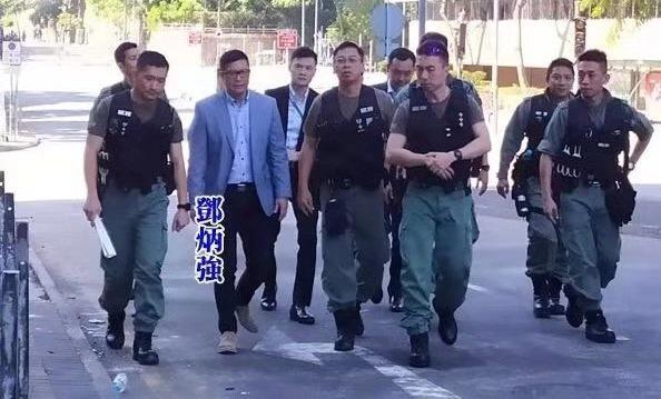 邓炳强赴前线指挥