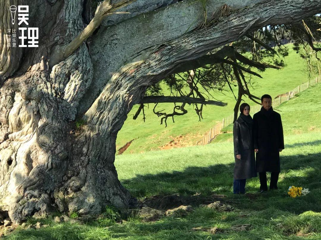 《只要芸知道》新西兰片场,黄轩和外籍演员的重头戏(拍照:杨晋亚)