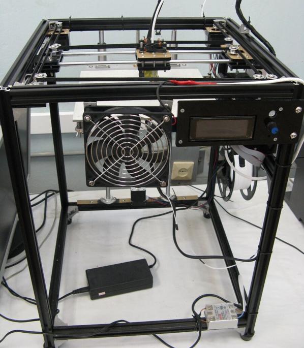 从中国海淘的3D打印机(图源:俄媒)